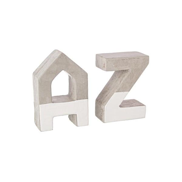 2 podpórki do książek Alphabet