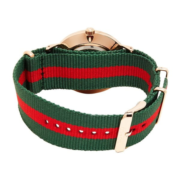 Zegarek męski Madison Stripe Red/Green