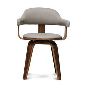 Krzesło obrotowe Suedoise Taupe