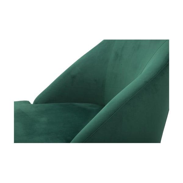 Zielony fotel Mauro Ferretti Paris