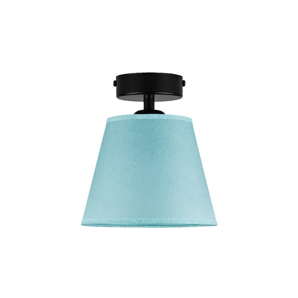 Niebieska lampa sufitowa Sotto Luce IRO Parchment, ⌀ 16 cm