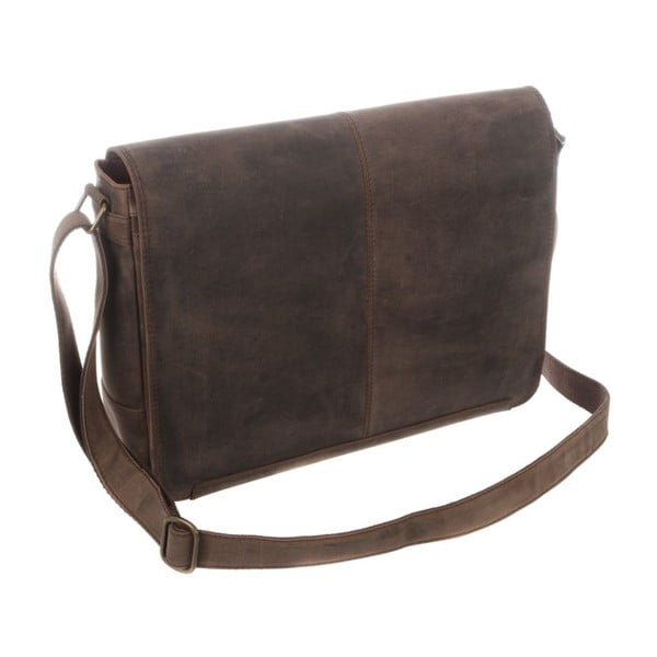Skórzana torba Croft Hunter Brown