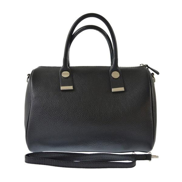Czarna torba skórzana Jenn