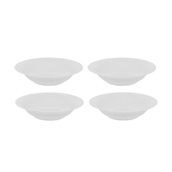 Zestaw 4 porcelanowych talerzy głębokich Sola Chic Lunasol