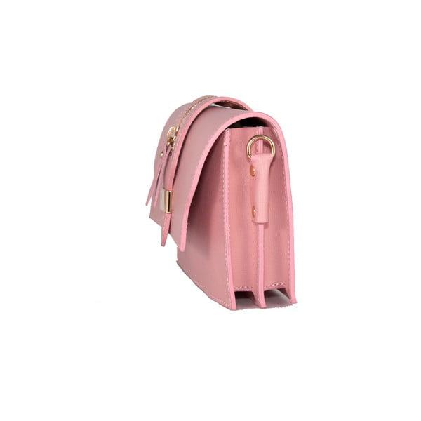 Torebka skórzana Andrea Cardone 2019 Pink