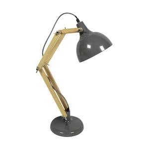 Szara lampa stołowa Red Cartel Dexter