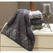 Ręcznik Ottoman Organic Grey, 80x150 cm
