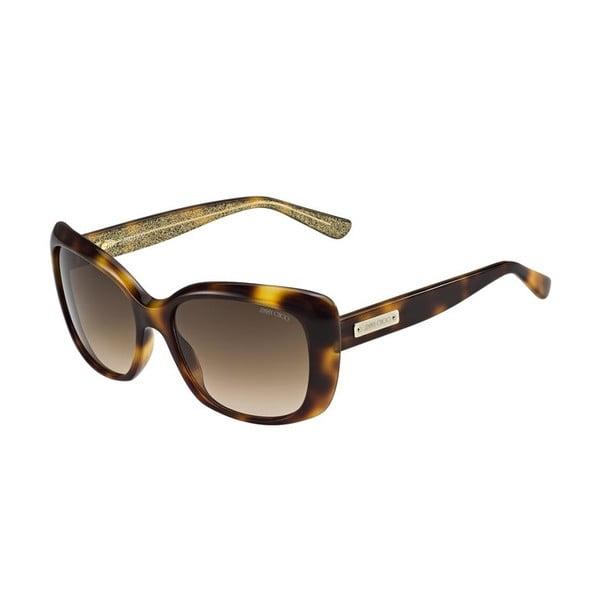 Okulary przeciwsłoneczne Jimmy Choo Kalia Brown