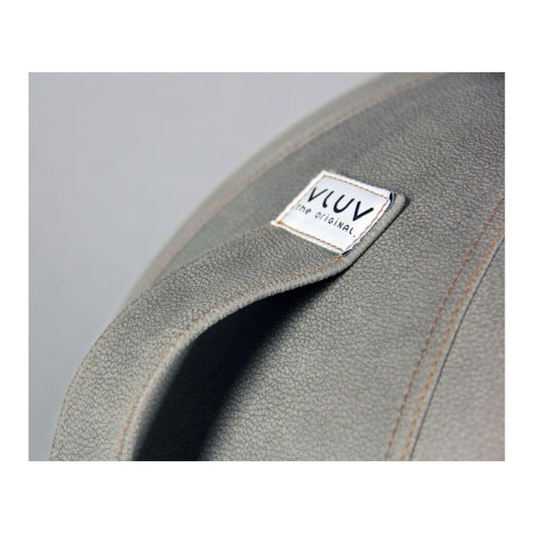 Szara piłka do siedzenia VLUV, 75 cm