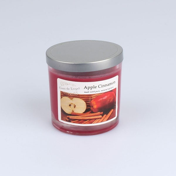 Świeczka zapachowa Dakls, zapach jabłko i cynamon