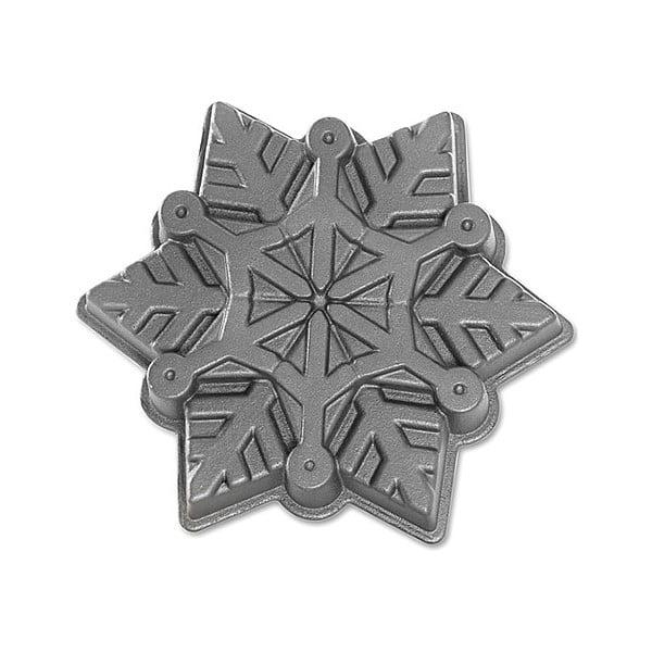 Forma na babkę, płatek śniegu