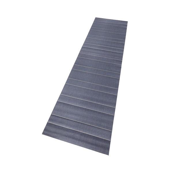 Dywan nadający się na zewnątrz Sunshine 80x200 cm, niebieski