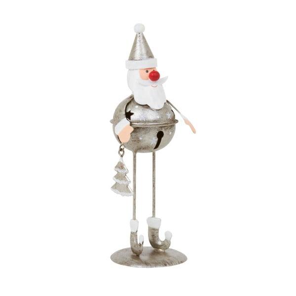 Dekoracja Archipelago Silver Bell Santa, 17 cm