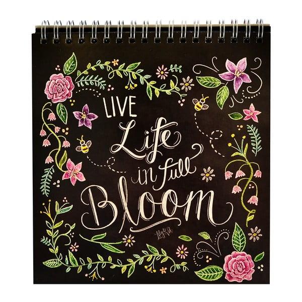 Kalendarz na stół Portico Designs Lily & Val