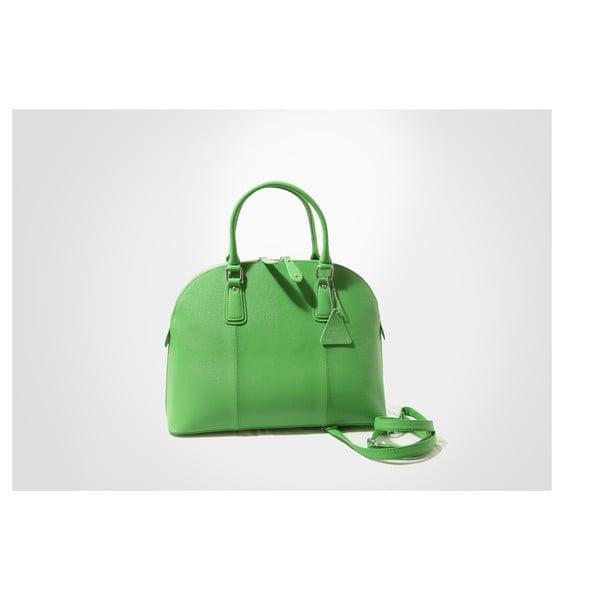 Skórzana torebka Mary, green