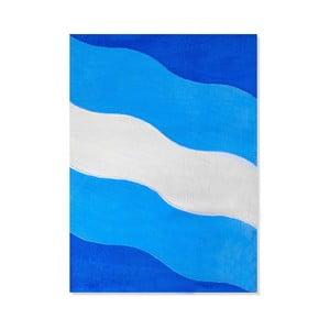 Dywan dziecięcy Mavis Blue Waves, 100x150 cm