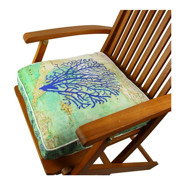 Poduszka na krzesło z wypełnieniem Halifax, 42x42 cm
