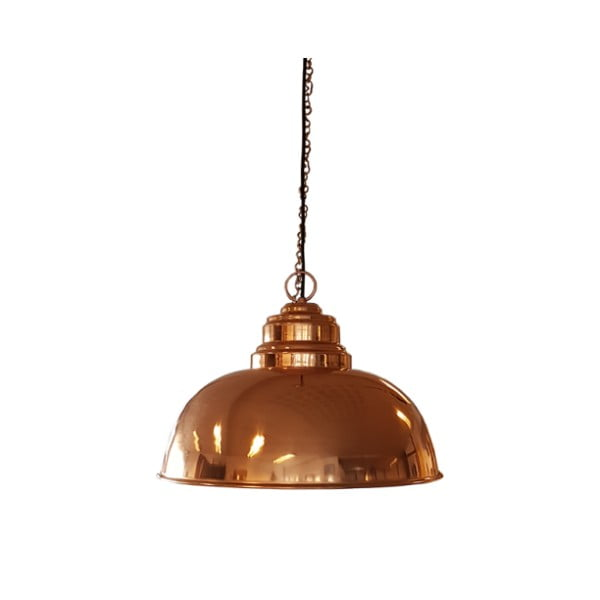 Lampa wisząca w barwie miedzi Fuhrhome Nice