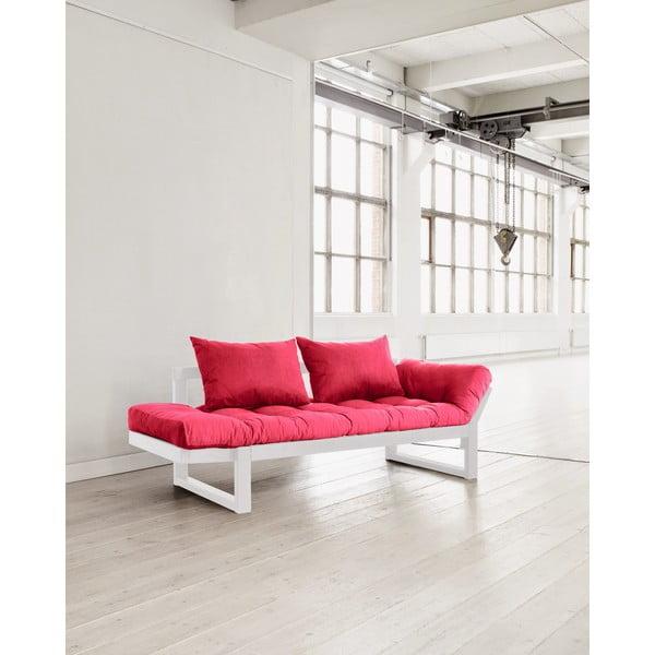 Sofa Karup Edge White/Pink