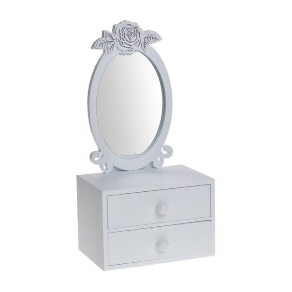 Drewniana toaletka z lusterkiem Romantic
