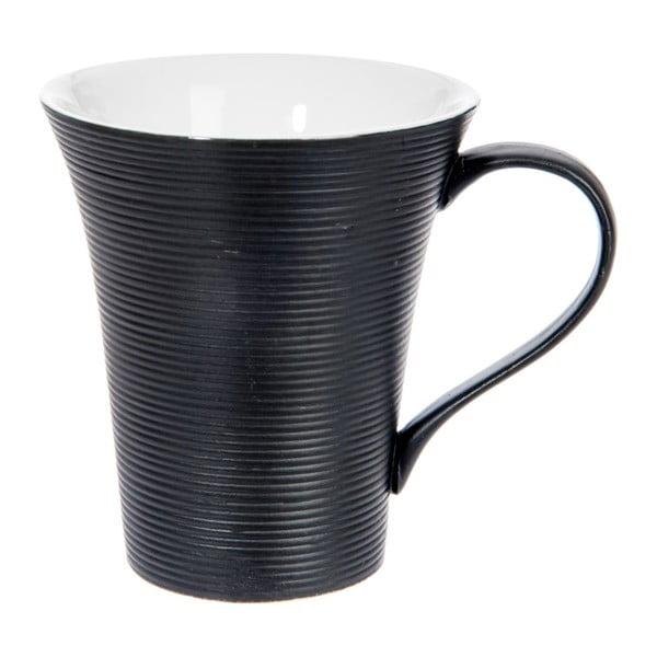 Kubek Stripes Dark Black, 400 ml