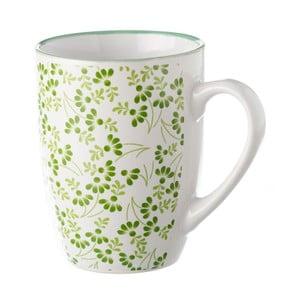Zielono-biały kubek Unimasa Meadow