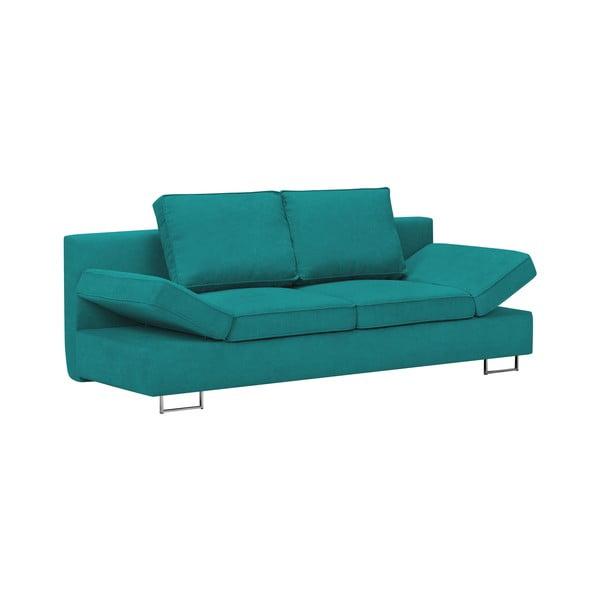 Turkusowa 2-osobowa sofa rozkładana Windsor & Co Sofas Iota