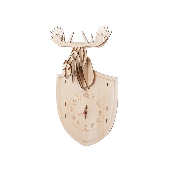 Drewniany zegar do złożenia Moose