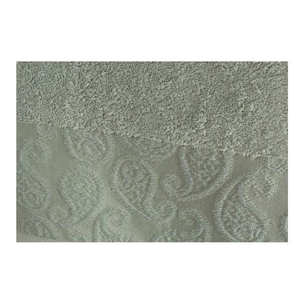 Zestaw 2 zielonych ręczników Sal Lila, 90x150 cm