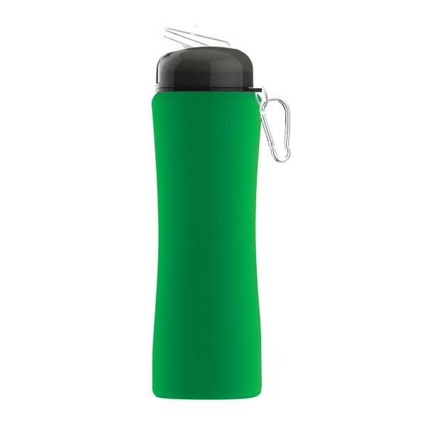 Rewolucyjna butelka Sili-Squeeze, zielona, 650 ml