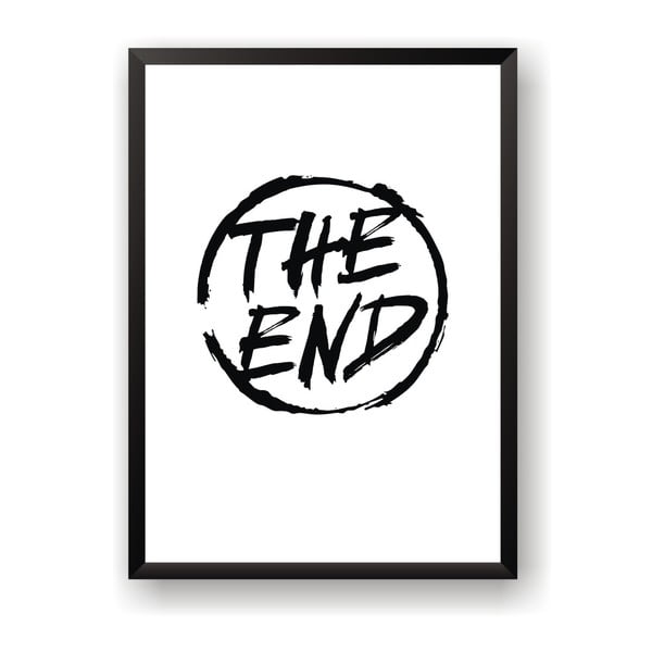 Plakat Nord & Co The End, 30x40 cm