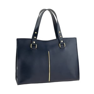 Niebieska torebka skórzana Ore Diece Frosinone