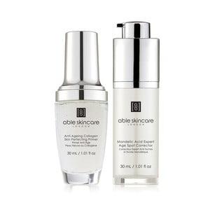 Zestaw serum na przebarwienia i bazy pod makijaż ABLE Anti-Imperfections