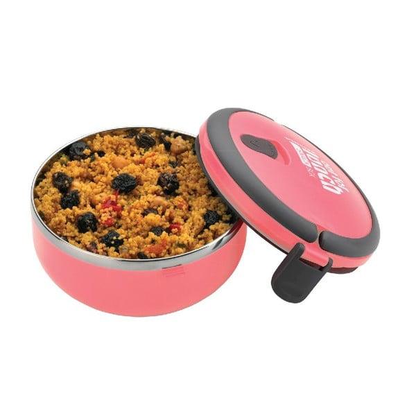 Pojemnik na lunch Lunchbox Pink, okrągły