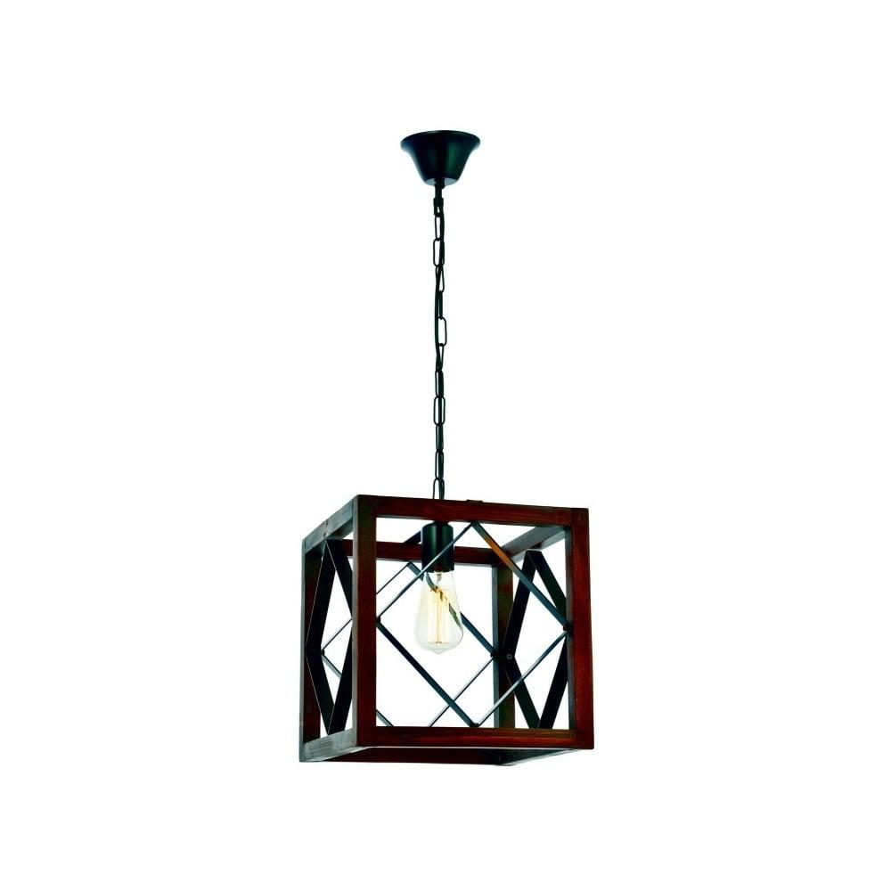 Lampa wisząca z drewna grabu Zikzak Büyük