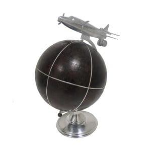 Globus dekoracyjny z samolotem Antic Line