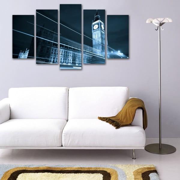 Pięcioczęściowy obraz Big Ben