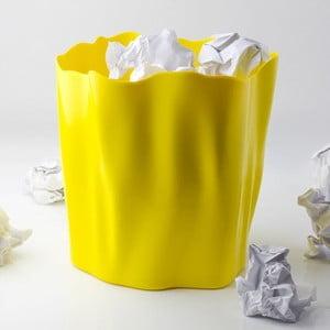 Kosz na śmieci QUALY Flow Bin, żółty