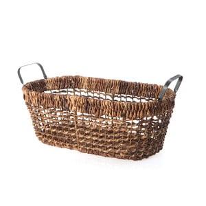 Wiklinowy koszyk Oval Wicker, 52 cm
