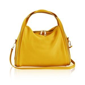Skórzana torebka Kalisi, żółta
