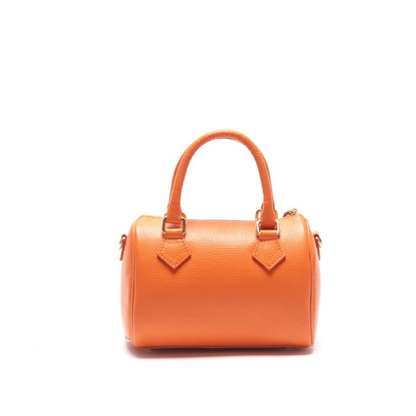 Skórzana torebka Renata Corsi 1161, pomarańczowa
