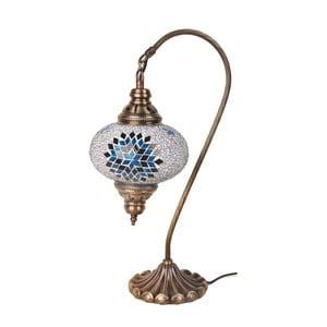Lampka szklana Fishing III, 17 cm