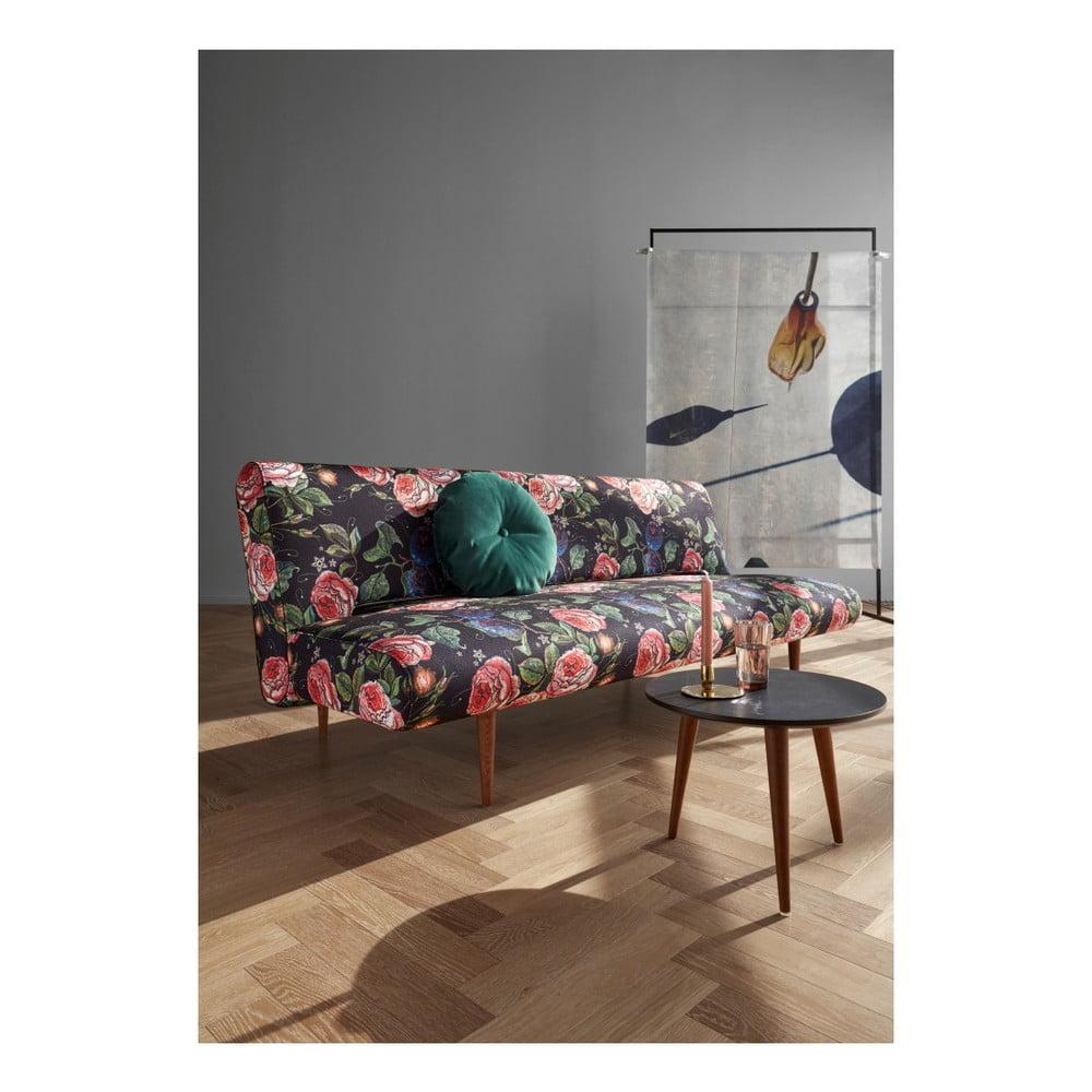 Różowa sofa rozkładana Innovation Unfurl Dusty Rose