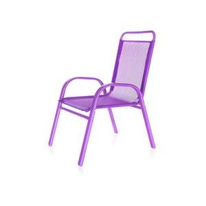Dziecięce krzesło ogrodowe Kids, fioletowe