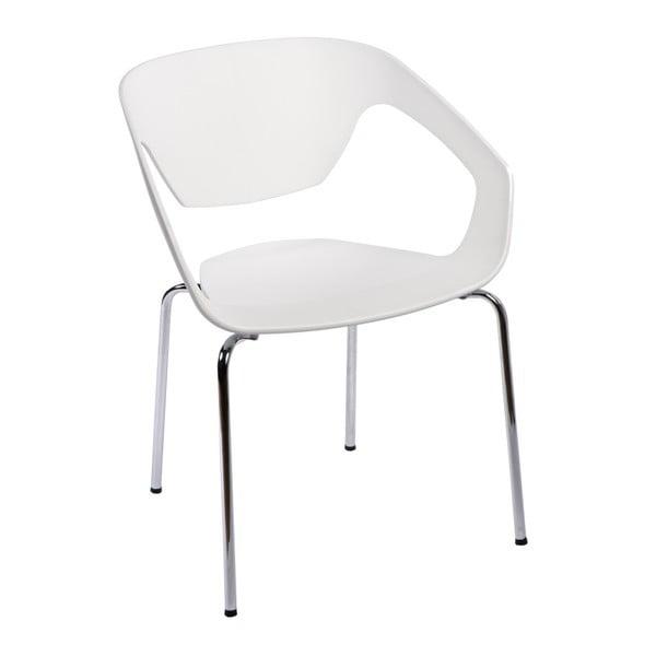 Zestaw 2 krzeseł D2 Space, białe