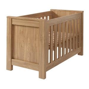 Łóżeczko dziecięce w kolorze drewna Núvol Paula, 60x120cm
