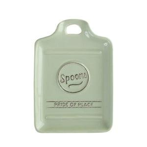 Zielona podkładka porcelanowa pod łyżki kuchenne T&G Woodware Pride of Place