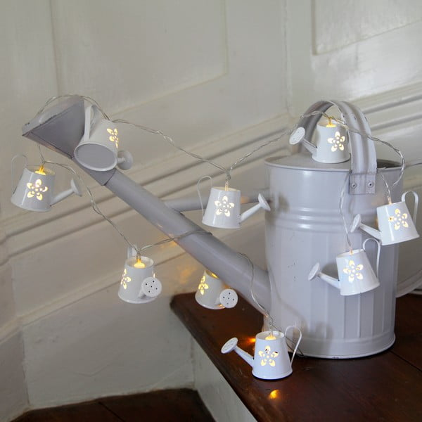 Girlanda świetlna Watercan 140 cm, biała