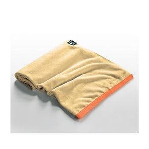 Ręcznik plażowy Agi Moe 80x160 cm, żółty