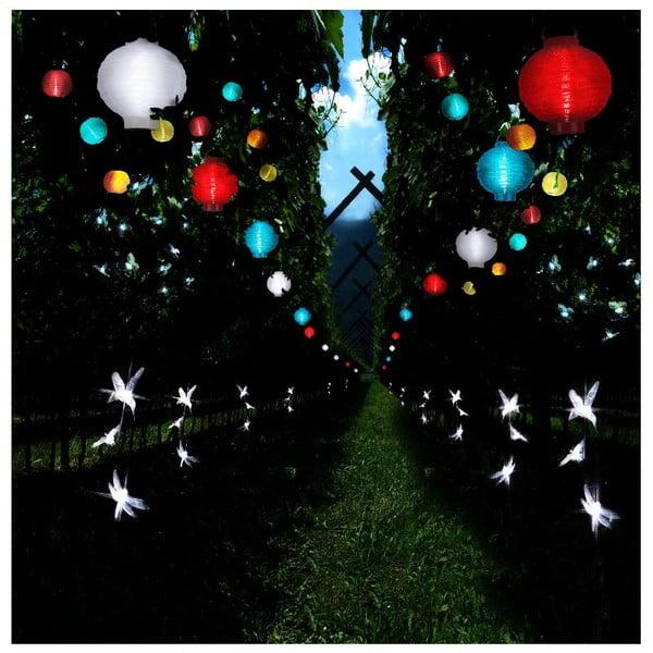 Solarna girlanda świetlna LED Best Season Lampions, 10 lampek